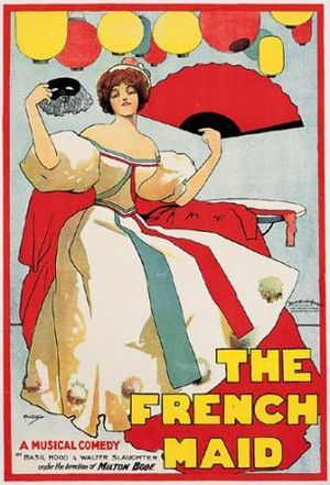Basil Hood - Theatre poster from 1897