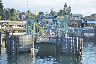 San Juan Island - Friday Harbor, WA - ferry landing 02 (20015926384)