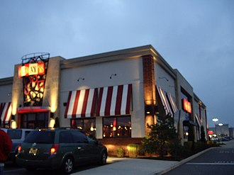 T.G.I. Friday's - A T.G.I. Fridays in Manahawkin, New Jersey that opened in 2003 and uses the new design