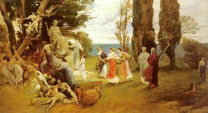 Arcadia (utopia) - Friedrich August von Kaulbach's In Arcadia