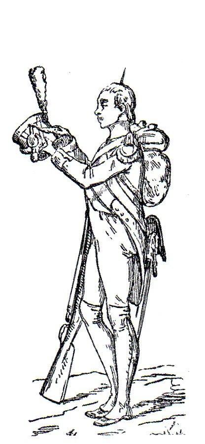 Fuciliere-Granatiere della Vecchia Guardia Adolphe de Chesnel