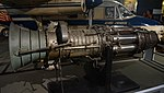 Fuji type JO-1 turbojet engine left side view at Modern Transportation Museum March 23, 2014.jpg