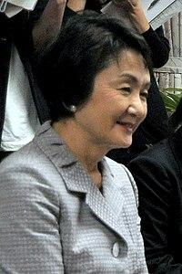 Fumiko Hayashi at Yokohama City Hall.jpg