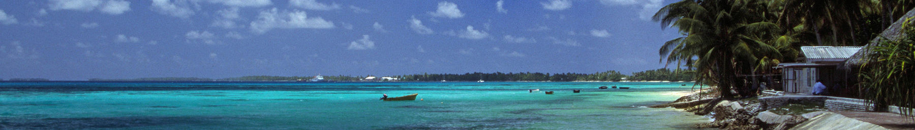 Beach in Funafuti