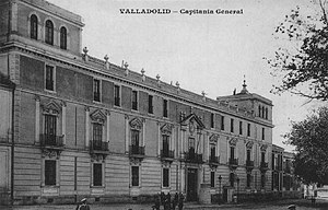 Royal Palace of Valladolid - Photo of the Royal Palace in early-20th century
