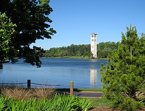Bell Tower, Furman University, Greenville, Sou...