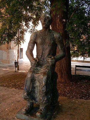 Géza, Grand Prince of the Hungarians - Statue of Grand Prince Géza in Székesfehérvár