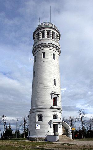Wielka Sowa - Observation tower