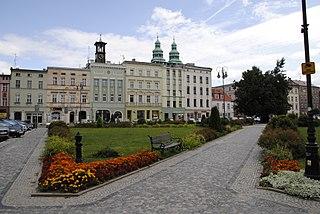 Głuchołazy Place in Opole Voivodeship, Poland