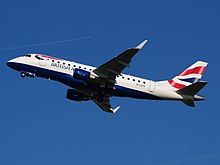 G-LCYI British Airways Embraer 170 takeoff from Schiphol (AMS - EHAM), The Netherlands, 16may2014, pic-3.JPG