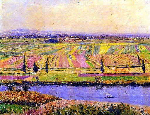 G. Caillebotte - La Plaine de Gennevilliers