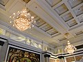 GD 廣東 肇慶 Zhaoqing Pearl Hotel Starlake interior ceiling 2 lamps July 2012.JPG