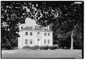 GENERAL VIEW FROM WEST - Sweetbriar, 1 Sweetbriar Drive, West Fairmount Park, Philadelphia, Philadelphia County, PA HABS PA,51-PHILA,396-10.tif