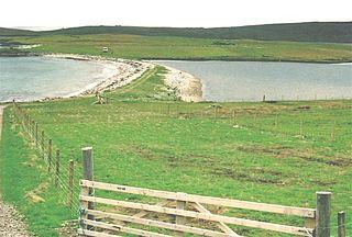 Ayre (landform) Shingle beaches in Orkney and Shetland