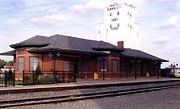 Garden City (Amtrak station) in 2008