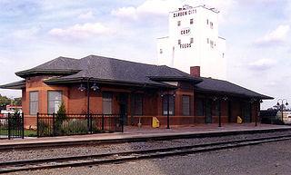 Garden City station (Kansas) Amtrak train station in Garden City, Kansas