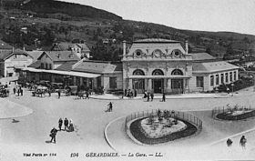 Image illustrative de l'article Gare de Gérardmer