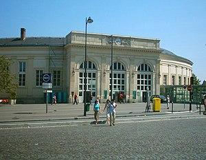 Place Denfert-Rochereau - The Denfert-Rochereau railway station