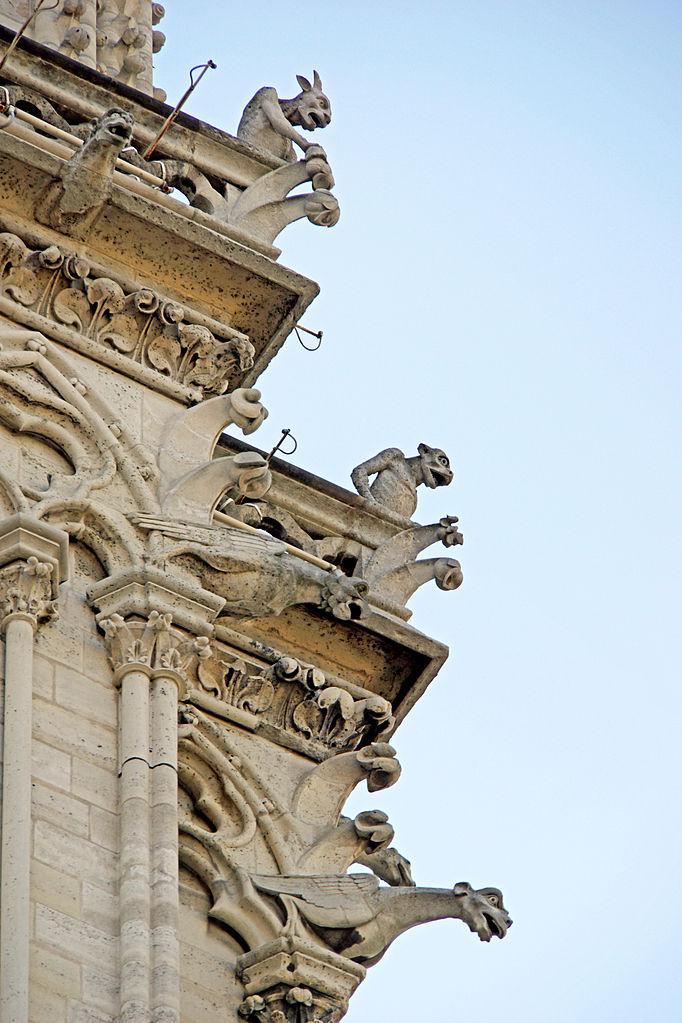 File:Gargoyles of Notre-Dame de Paris, 22 June 2014.jpg ...