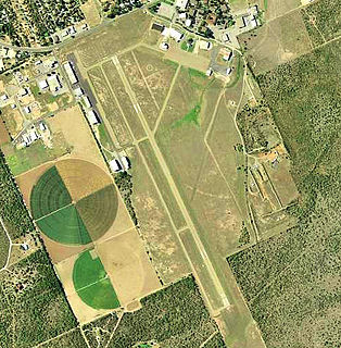 Garner Field airport in Texas, United States of America