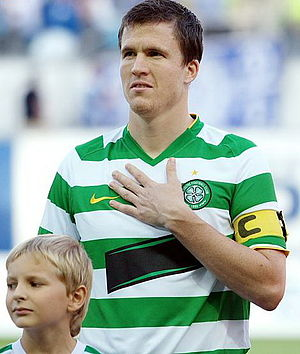 Gary Caldwell - Caldwell lining up for Celtic in 2009