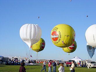 Balloon (aeronautics) - Gas balloons at the Albuquerque International Balloon Fiesta
