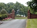 Gate to Wicksted Hall, Wirswall - geograph.org.uk - 213714.jpg