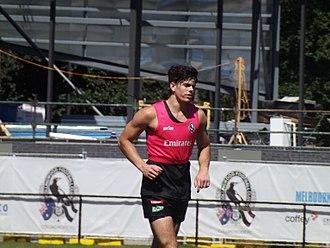 Corey Gault - Image: Gault training
