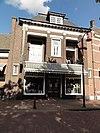 foto van Winkel-woonhuis aan de Kerkstraat, deel van oude lintstructuur