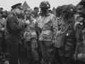 General Dwight D. Eisenhower meeting the troops prior to the Normandy invasion.tif
