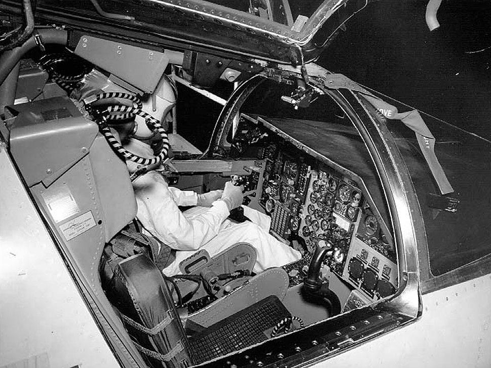 General Dynamics F-111A cockpit 061003-F-1234S-015