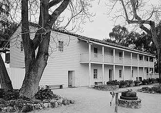 San Juan Bautista, California - General Jose Castro House.