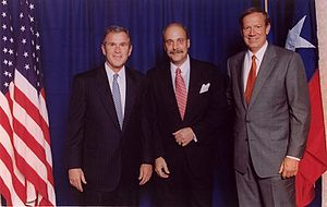 George Pataki - Pataki with President George W. Bush and Lloyd Stamy