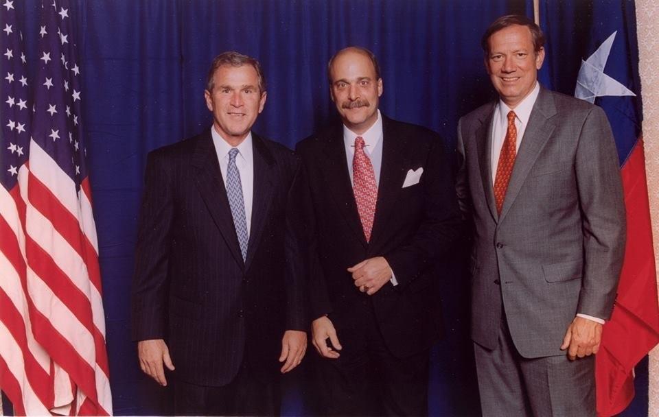 George Bush and George Pataki
