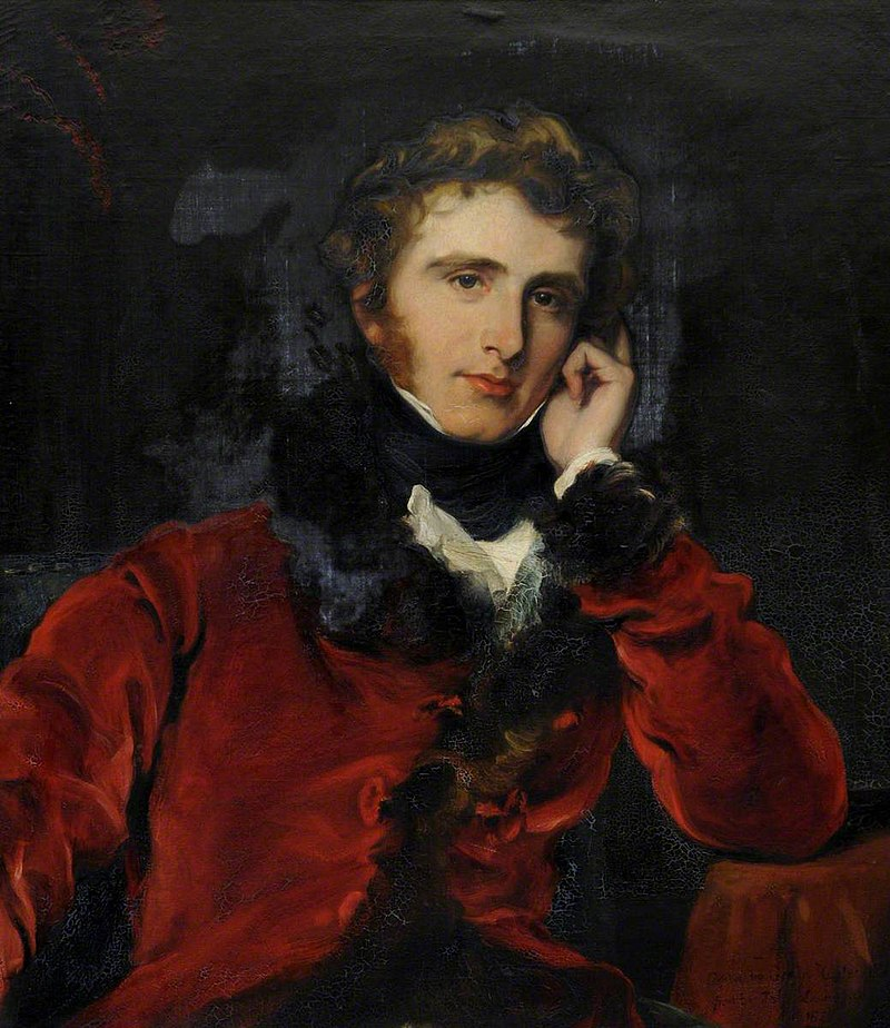 George Hayter (1792-1871) - George James Welbore Agar-Ellis (1797–1833), 1st Baron Dover, MP, FRS, FSA - 1129259 - National Trust.jpg