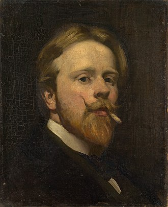 George Washington Lambert - Self-portrait, circa 1906