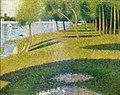 Georges Seurat - Paysage, L Ile de la Grande-Jatte PC130.jpg