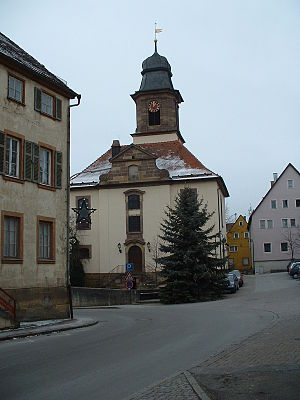 Gerabronn - The Protestant church in Gerabronn
