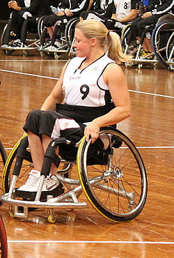 Germany vs Japan women's wheelchair basketball team at the Sports Centre (IMG 3188) 2.jpg