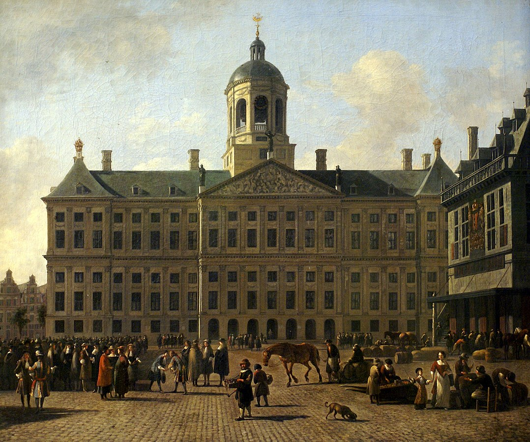 The Amsterdam City Hall on Dam Square
