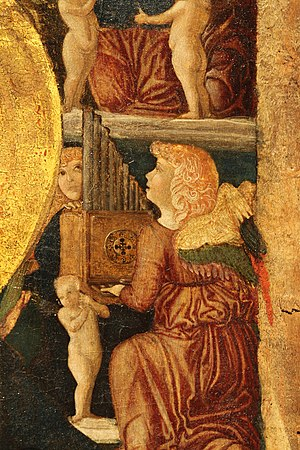 Gianfrancesco da Tolmezzo - Madonna with Child, Gallerie dell'Accademia, Venice.