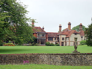 Gilbert White - Gilbert White's house, The Wakes, now a museum, viewed from the back gardens, taken in September 2010