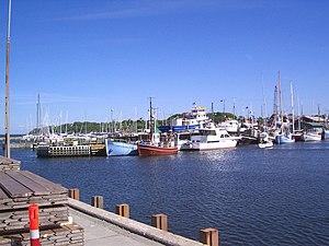 Gilleleje - Boats in the Gilleleje inner harbour