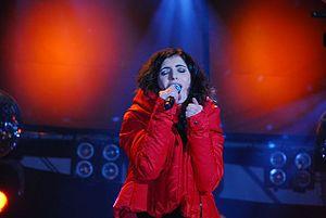 Giorgia (singer) - Giorgia in Rome in 2008