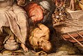 Giorgio vasari e aiuti, la battaglia di lepanto, 1572-73, 06,3 prigionieri ottomani.jpg