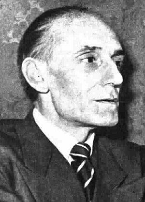 Giulio Confalonieri - Giulio Confalonieri in Radiocorriere magazine, 1954.