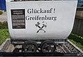 Glückauf Greifenburg vor dem Gemeindeamt in Greifenburg, Kärnten.jpg