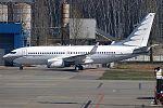 Global Jet Luxembourg, M-URUS, Boeing 737-7GC BBJ (34194914210).jpg