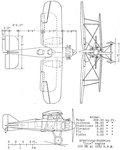 Gloster Grouse II 3 view NACA Aircraft Circular No.7.png