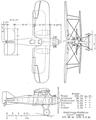 Gloster Grouse II 3 view NACA Aircraft Circular No.7.png